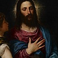 The Temptation of Christ Print by Titian
