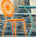 The Terrace Chair by Thomas Kuchenbecker