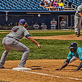 The Throw To First by Karol Livote