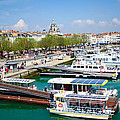 The Town And Port Of La Rochelle by Nila Newsom