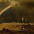 The Triumph at Calvary Print by George Inness