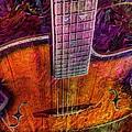 The Tuning Of Color Digital Guitar Art By Steven Langston by Steven Lebron Langston