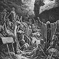 The Vision Of The Valley Of Dry Bones by Gustave Dore
