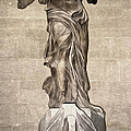 The Winged Victory Of Samothrace Marble Sculpture Of The Greek Goddess Nike Victory by Gregory Dyer