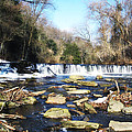 The Wissahickon Creek In February by Bill Cannon