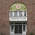 The WOMANS CLUB BIDS YOU WELCOME Print by Daniel Hagerman