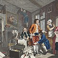The Young Heir Takes Possession by William Hogarth