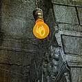 Thomas Edison Lightbulb by Susan Candelario