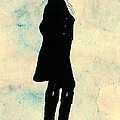 Thomas Jefferson Silhouette 1800 by Padre Art