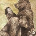 Three Bears by Meagan  Visser