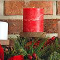 Three Christmas Candles by Kenneth Sponsler