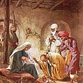 Three Kings Worship Christ by William Brassey Hole