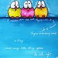 Three Little Birds by Lucia Stewart