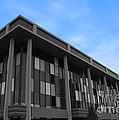 Three Story Selective Color Building by Bill Woodstock