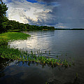 Thunderstorm On The Water by Bonita Moore