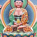 Tibetan Buddhist Deity Sculpture by Tim Gainey