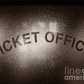 Ticket Office Window by Olivier Le Queinec