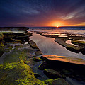Tidepool Sunsets by Peter Tellone