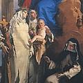 Tiepolo Giambattista, Virgin Appearing by Everett
