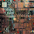 Time For A Motherboard Upgrade 20130716 Square by Wingsdomain Art and Photography