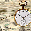 Time Is Over Money by Olivier Le Queinec