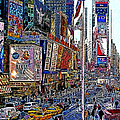 Time Square New York 20130430v2 by Wingsdomain Art and Photography