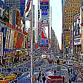 Time Square New York 20130503v5 by Wingsdomain Art and Photography