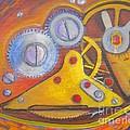 Time Unfolding Study by Vivian Haberfeld
