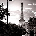 Timeless Eiffel Tower by Olivier Le Queinec