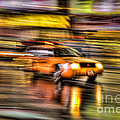 Times Square Taxi I by Clarence Holmes