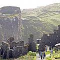 Tintagel Castle by Rod Jones