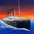 Titanic by David Linton