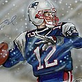 Tom Brady by Dave Olsen