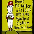 Tom Seaver Cincinnati Reds by Jay Perkins