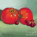 Tomatoes And Concord Grapes by Dessie Durham