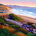 Torrey Pines Commute by Mary Helmreich
