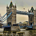 Tower Bridge On The River Thames by Heather Applegate