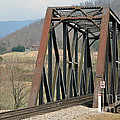 Train Bridge by Brenda Dorman