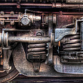 Train - Car - Springs And Things by Mike Savad