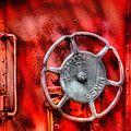 Train - Car - The Wheel by Mike Savad