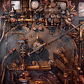 Train - Engine - Hot Under The Collar  by Mike Savad