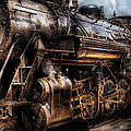 Train - Engine -  Now Boarding by Mike Savad
