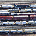 Train Wagons, South Portland by Dave Cleaveland