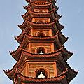 Tran Quoc Pagoda In Hanoi by Sami Sarkis