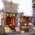 Tratorria In Italy by Susan Schmitz