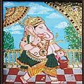 Travelling Ganesh by Jayashree