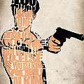 Travis Bickle - Robert De Niro Print by Ayse Deniz