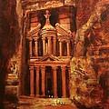 Treasury Of Petra by Tom Shropshire
