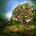 Tree Of Abundance by Carol Cavalaris