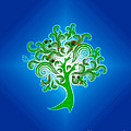Tree of Life Print by Cheryl Young